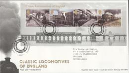 United Kingdom 2011 - Cover: FDC - Bridge, Train / Railway