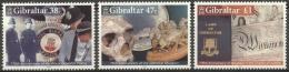 Gibraltar 2005 - MNH - Police, Skull