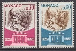 MONACO 1966 - SERIE N° 700 Et 701 - 2 TP NEUFS* /C037