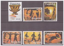743 Guyana 1989 Olympics Barcelona 1992 Ancient Vase MNH - Sommer 1992: Barcelone