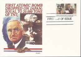 USA (United States) 1995 - Cover: FDC - World War II