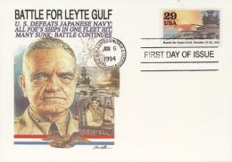 USA (United States) 1994 - Cover: FDC - World War II