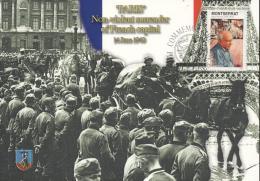 Montserrat 2005 - Cover: Maximum Card - Army, Eiffeltower, History, Picasso, World War II