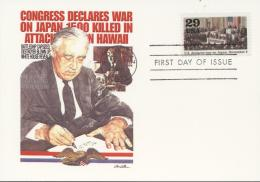 USA (United States) 1991 - Cover: FDC - World War II