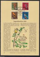 DE 99 ) Herrlicher Privat ETB Verlag Erich Braun 1963 Einheimische Vögel
