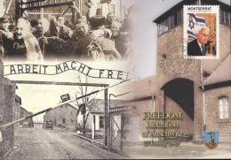 Montserrat 2005 - Cover: Maximum Card - Army, History, Judaica, World War II