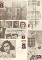 Montserrat 1998 - Cover: FDC - Judaica, World War II, Writing / Writers