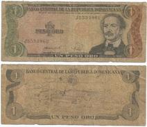 Rep. Dominicana - Dominican Rep. 1 Peso 1988 Pick 126.c Ref 648 - República Dominicana