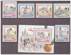 749 Togolaise Olympics Barcelona 1992 Athletic Boxing Basketball Tabletennis + S/S MNH