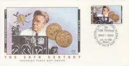 Marshall Islands 1998 - Cover: Special - Atom Bomb, History, Nobelprize