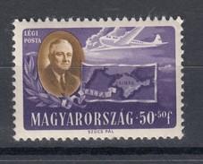 Ungarn 50 F +  50 F Präsident Roosevelt 1947  - ** Ungebraucht