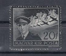 Ungarn 20 F Tod Horthy 1942  - ** Ungebraucht