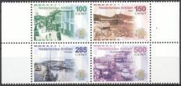Netherlands Antilles 2006 - MNH - Architecture, Bridge, Harbour, Oldtimers