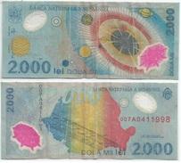 Rumanía - Romania 2.000 Lei 1999 (polímero) Pick 111.a Ref 656 - Rumania