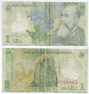 Rumanía - Romania 1 Leu 2005 (2005) Polimero Pick 117.a Ref 658 - Rumania