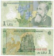 Rumanía - Romania 1 Leu 2005 (2008) Polimero Pick 177.d Ref 659 - Rumania