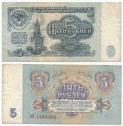 Rusia - Russia 5 Rublos 1961 Pick 224.a Ref 680 - Rusia
