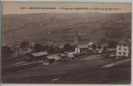 Frontiere Franco-Suisse - Village Des Brenets Et Vallee Du Doubs (Suisse) - Bahnhof Gare - NE Neuenburg