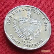 Cuba 5 Centavos 1998 KM# 575.2 Kuba - Cuba