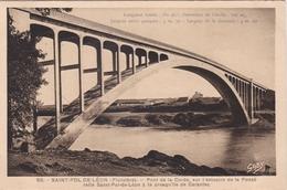 CPA N° 62  Dept 29 SAINT POL DE LEON Pont De La Corde - Saint-Pol-de-Léon