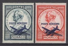 MONACO 1945 / 1946 SERIE N° 13 ET 14 - 2 PA NEUFS* /C039