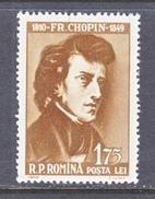 ROMANIA  1348    *    COMPOSER   CHOPIN