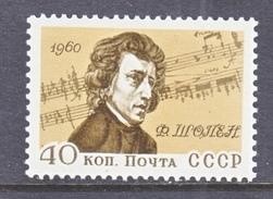 RUSSIA 2406    **    COMPOSER   CHOPIN