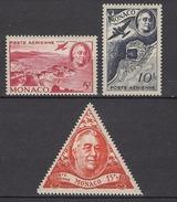MONACO 1946 SERIE N° 19 A 21 - 3 PA NEUFS* /C037
