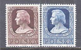 POLAND  666-7     **    COMPOSER   CHOPIN