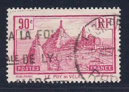 France, Scott # 290 Used Le Puy-en-Velay, 1933