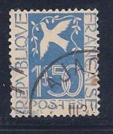 France, Scott # 294 Used Dove, Olive Branch, 1934