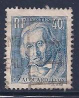 France, Scott # 295 Used Jacquard, 1934