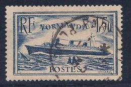 France, Scott # 300 Used S.S.Normandie, 1935