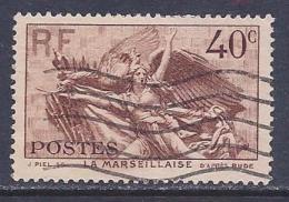 France, Scott # 310 Used Rouget De Lisle, 1936