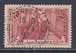 France, Scott # 313 Used Jaures, 1936