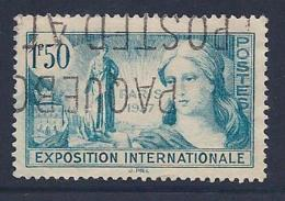France, Scott # 324 Used Paris Exposition, 1937