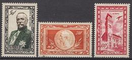 MONACO 1949 N° 39 / 40 / 41 - 3 PA NEUFS* LOT266
