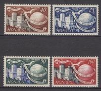 MONACO 1949 / 1950 SERIE N° 45 A N° 48 -  NEUFS* LOT233