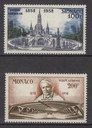 MONACO 1957 / 1959 N° 69 / 70  -  NEUFS** 2