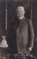 German President Von Hindenburg Portrait C1920s Vintage Real Photo Postcard - People
