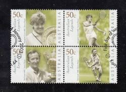 Australian Tennis Legends - Used Block 4