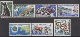 MONACO 1967 LOT N° 722 / 723 / 724 / 725 / 726 / 727 / 728 / NEUF* LOT306