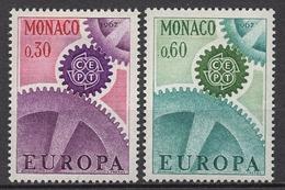 MONACO 1967  SERIE N° 729 ET 730 2 TP NEUFS * /LO305