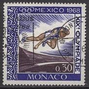 MONACO 1968 - N° 737 - 6 TP OBLITERE /LOT314