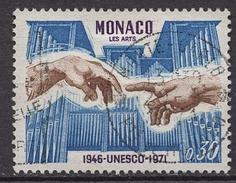 MONACO 1971 -  N° 855 - OBLITERE /LOT312
