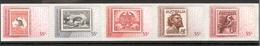 AUSTRALIA 2009 Favorite Stamps, Self-adhesive Strip Of 5, Scott No. 3095a MNH