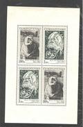 CZECHOSLOVAKIA 1973 Works By Max Svabinsky, Scott Nos.1904-1905 MNH Sheet Of 2 Each