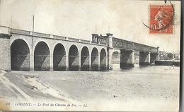56 Lorient  Le Pont Du Chemin De Fer  CPA 1916