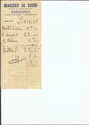 Ref 41/ 13, Aix En Provence, Brasserie Du Casino, 1928 - 1900 – 1949