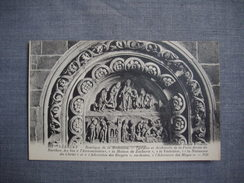 VEZELAY  -  89  -  Basilique   De La Madeleine  - Tympan Et Archivolte De La Porte Droite Du Narthex   -   YONNE